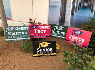 Graduation Signs | High Schools, Colleges & Universities | Temecula