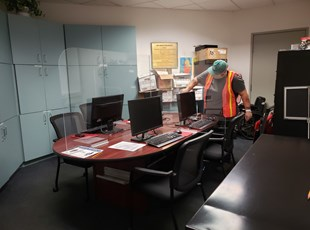 Social Distancing Safety Screens | Murrieta Manufacturer | Office