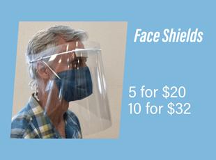 Social Distancing Face Shields