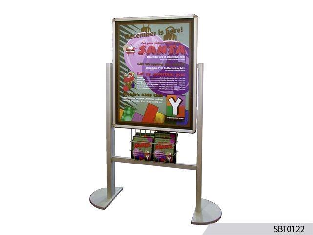Custom Freestanding Frames, Easels & Pedestal Signs | Signs By ...