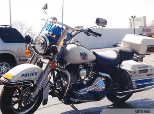 Police Motorcycle Decal