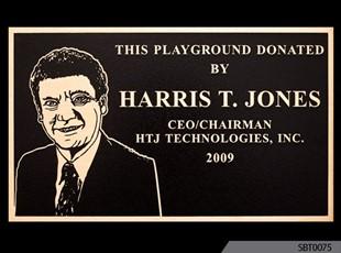Dedication Cast Plaque