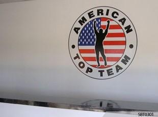 Indoor Martial Arts Academy Wall Graphics