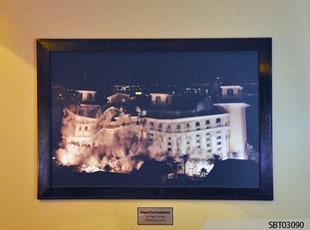 Casino Custom Wall Frame and Display