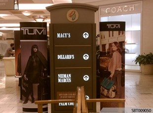 Retail Interior Directory Sign