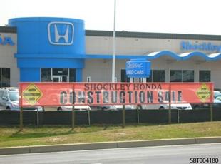 Auto Dealership Outdoor Mesh Fabric Banner
