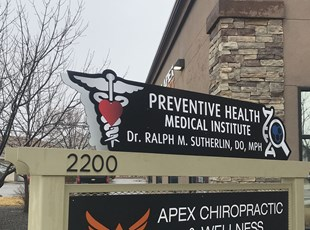 Monument Signs | Custom Routed Metal Signs | Healthcare | Boise, ID