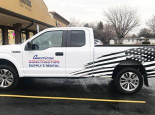 Custom Vehicle Lettering & Graphics | Custom Vehicle Wraps | Construction | Boise, Idaho