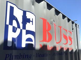 Custom Vehicle Lettering & Graphics | Outdoor Vinyl Lettering & Graphics | Construction | Boise, Idaho