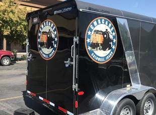 Custom Vehicle Lettering & Graphics | Trailer Graphics | Boise, Idaho