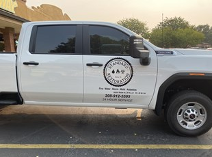 Custom Vehicle Lettering & Graphics | Vehicle Magnets | Construction | Boise, ID