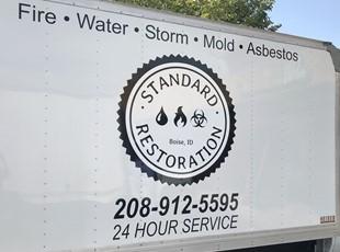 Custom Vehicle Lettering & Graphics | Construction | Boise, Idaho