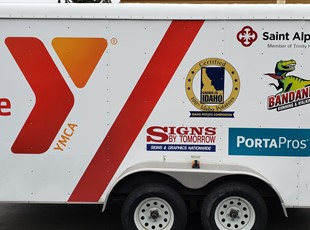 Custom Vehicle Lettering & Graphics | Custom Vehicle Wraps | Fitness | Boise, Idaho