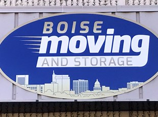 Outdoor Panel Sign | Moving Company | Building Signs | Boise, ID