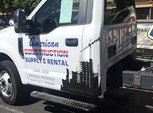 Vehicle Lettering & Graphics | Construction | Boise, Idaho