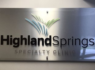Indoor Dimensional Lettering   Lobby Signs   Healthcare   Boise, Idaho