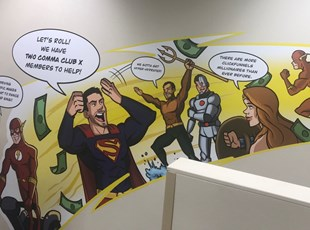 Indoor Vinyl Lettering & Graphics   Wall Coverings   Service   Boise, Idaho