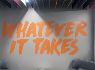 Indoor Vinyl Lettering & Graphics | Wall Coverings | Boise, Idaho
