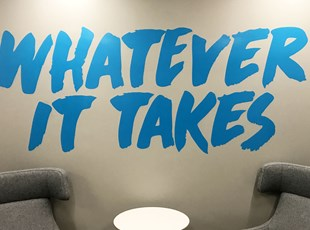 Indoor Vinyl Lettering & Graphics | Wall Coverings | Advertising | Boise, Idaho