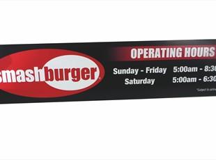 Indoor Plastic Signs | POP Displays | Restaurant | Boise, Idaho