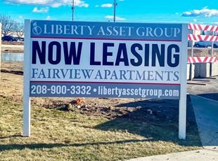 Post & Panel Signs   Real Estate Signs   Property Management Signs   Nampa, Idaho