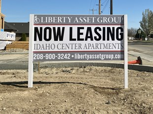 Post & Panel Signs | Real Estate Signs | Property Management | Boise, Idaho