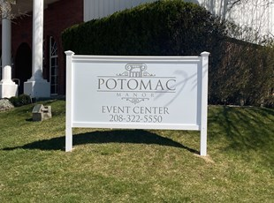 Post & Panel Signs | Outdoor Vinyl Lettering & Graphics | Entertainment | Boise, Idaho