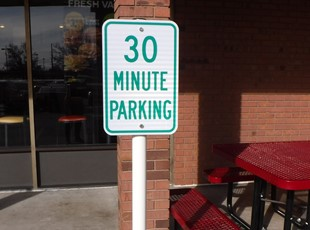 Parking Signs & Street Signs | Metal Signs | Restaurant | Property Management | Boise, Idaho