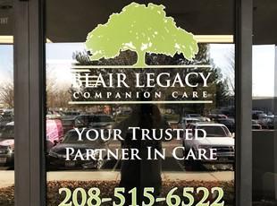 Window Graphics | Outdoor Vinyl Lettering & Graphics | Healthcare | Boise, Idaho