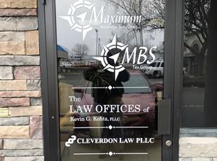 Window Graphics | Outdoor Vinyl Lettering & Graphics | Boise, Idaho