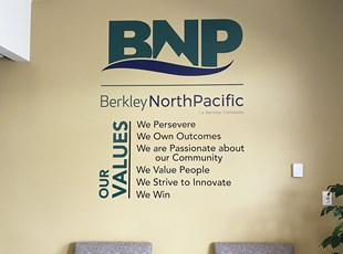 Wall Graphics & Murals | Indoor Vinyl Lettering & Graphics | Service | Boise, Idaho