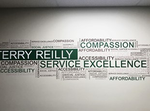 Wall Graphics & Murals | Indoor Vinyl Lettering & Graphics | Healthcare | Nampa, Idaho