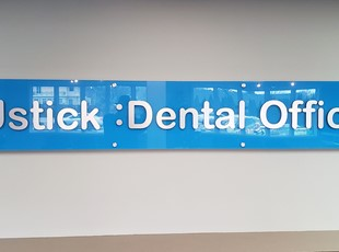 Reception & Office Signage | Acrylic Signs | Healthcare | Boise, Idaho