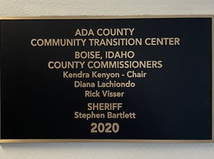 Cast Metal Plaques | Metal Signs | Government | Boise, Idaho