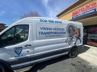 Custom Vehicle Wraps | Custom Vehicle Lettering & Graphics | Healthcare | Boise, ID