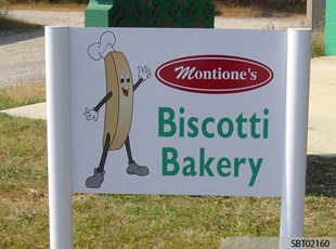 Bakery Post and Panel Sign