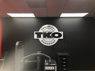 3D Signs | Indoor Routed & Sandblasted Signs | Fitness