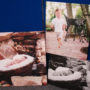 Canvas digital print pictures for picture frames