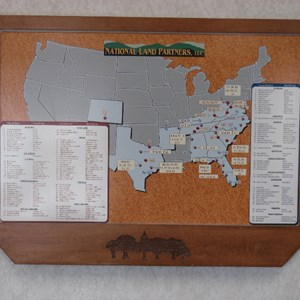 US map for home builder