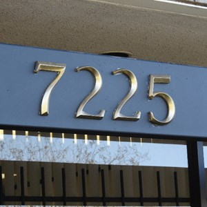 Address numbers for building