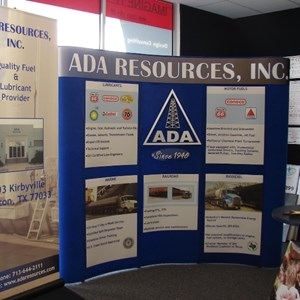Trade show graphics and banner display