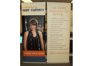 Hair Salon Retractable Banners - set of 2
