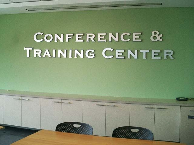 Conference Room Dimensional Lettering