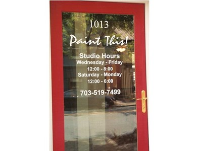 Outdoor Vinyl Graphics Lettering Signs By Tomorrow Alexandria