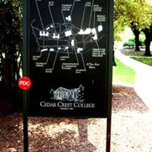 Map Directional Signs - Visual map Signage
