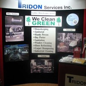 Tridon Interior Trade Show Signage - With Digital Prints