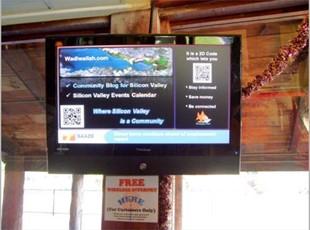 Interior Digital Signage Display