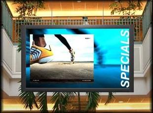 Mall Interior Digital Signage Display