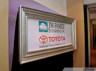 Custom Wall Frame Sponsor Sign