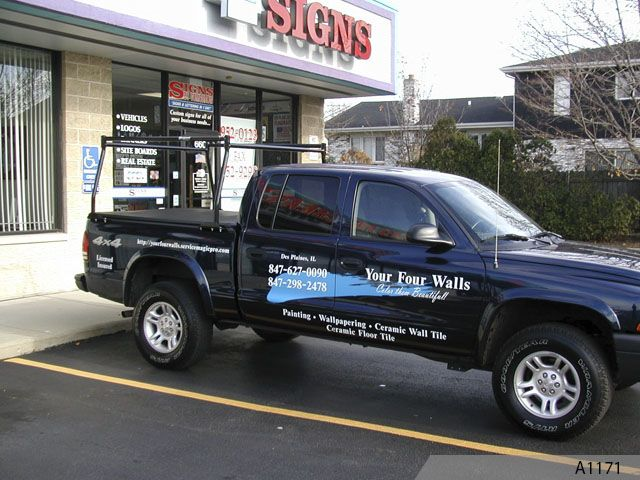 Custom Signs Northern Illinois Car Decals Vehicle Wraps - Custom window decals for vehicles